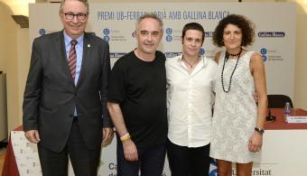 El Premio UB-Ferran Adrià con Gallina Blanca llega a su 5ªedición