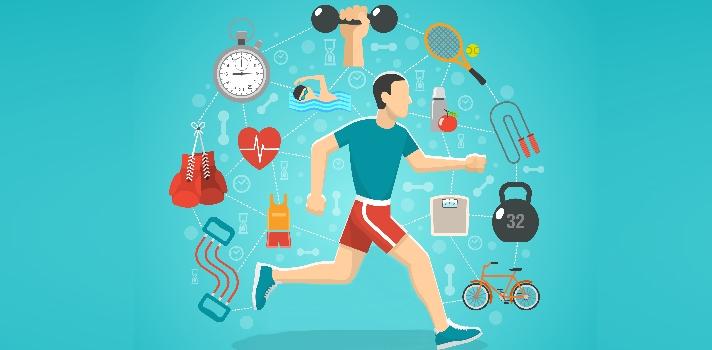 La preparación física y mental es igual de importante para un deportista que compite