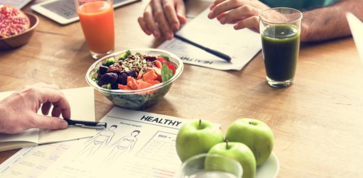 Una alimentación equilibrada es clave para una buena salud