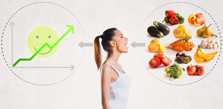 Incluye frutas y verduras frescas a tu dieta diaria