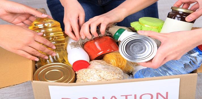 Alimentos no perecederos, agua, ropa, son algunas de los elementos que se pueden donar para colaborar con los damnificados.