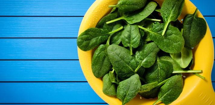 5 razones para incluir la espinaca a tu dieta de verano