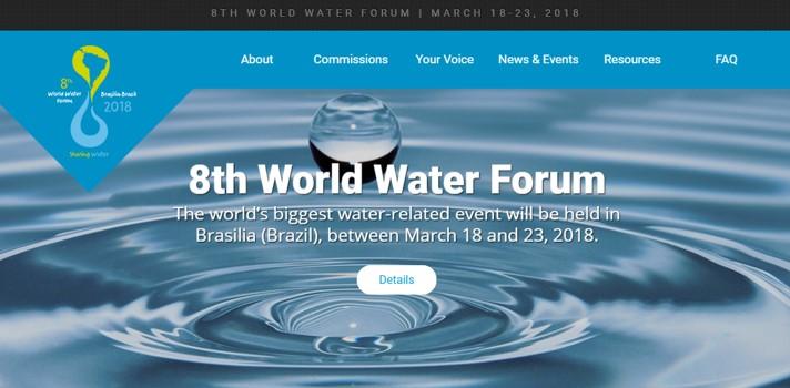 Con US$1.000 de premio, Foro Mundial del Agua 2018 llama a participar con propuestas de investigación