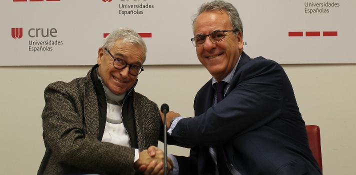 Crue Universidades Españolas suscribe un convenio de colaboración con la Fundación Francisco Luzón