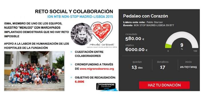 Captura web migranodearena.org