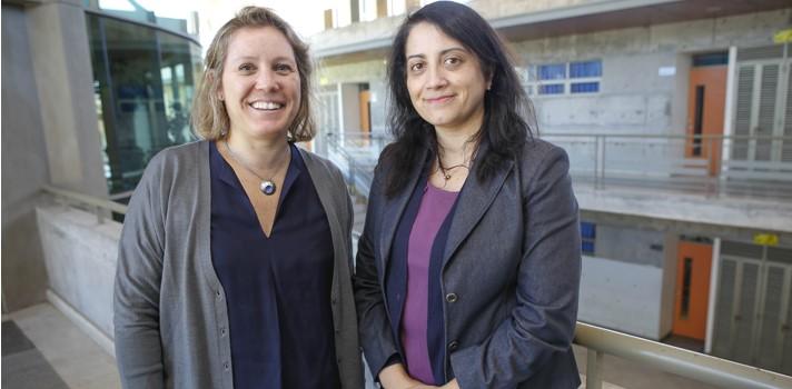 Cecilia Olivarí y Rocío Casañas, expertas en salud mental y adolescentes