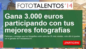 <p style=text-align: justify;>Los universitarios, aún están a tiempo de participar en el <strong>concurso Fototalentos 2014</strong>, una iniciativa impulsada por <strong>Banco Santander</strong>, a través de su <strong>División Global Santander Universidades</strong>, y <strong>Universia</strong>, en el marco del <a href=https://www.universiario2014.com/ target=_blank><strong>III Encuentro Internacional de Rectores Universia</strong></a>.</p><p style=text-align: justify;></p><p style=text-align: justify;>El concurso que busca fomentar, reconocer, difundir y premiar la <strong>creatividad en el arte de la fotografía</strong>, está dirigido a <strong>todos los miembros de la comunidad universitaria</strong>, desde estudiantes, docentes e investigadores hasta el personal administrativo que residan en cualquier parte del mundo.</p><p style=text-align: justify;></p><p style=text-align: justify;>Participar es sencillo. Sólo hay que ser usuario de Universia y <a href=https://www.fototalentos.com/ target=_blank><strong>registrarse en la página de Fototalentos 2014</strong></a>. Con unos clics, los interesados podrán subir todas las fotografías que deseen <strong>antes del 7 de julio de 2014</strong>, siempre y cuando reflejen lo <strong>que significa la Universidad para el concursante</strong>. Cuantas más fotos, más posibilidades de llegar a ser finalista del concurso y ganar el <strong>primer premio de 3.000 euros</strong>, o alguno de los tres accésit de 1.500 euros.</p><p style=text-align: justify;></p><p style=text-align: justify;>Los <strong>internautas serán los encargados de votar sus fotografías</strong> favoritas en la web del concurso y podrán hacerlo hasta el próximo <strong>10 de julio de 2014</strong>. Las 25 fotografías más votadas serán las finalistas del concurso, y un comité de expertos decidirá cuál de ellas será la obra ganadora, así como los tres áccesits. Los resultados se publicarán en la web de Fototalentos 2014 el 18 de julio de 2014.</p><p style=t