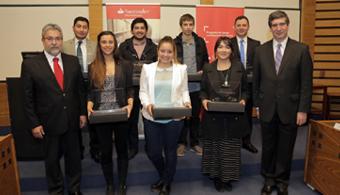 Alumnos y docentes de la U. de los Andes recibieron Becas Iberoamérica
