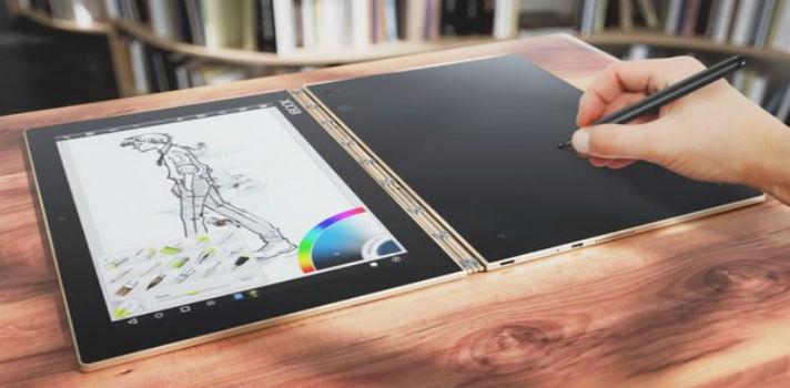 Yoga BOOK: una tableta pensada para artistas y diseñadores.