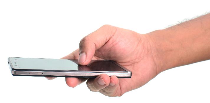 Tocar la pantalla no siempre es necesario cuando se quiere escribir un mensaje