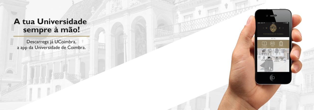 Universidade de Coimbra lança App móvel para a comunidade