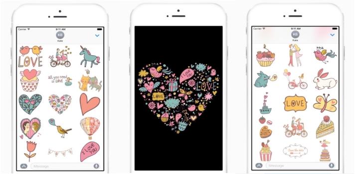 Apple se prepara para San Valentín.