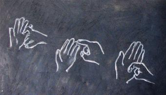 Argentinos elaboran un diccionario digital de lenguas de señas