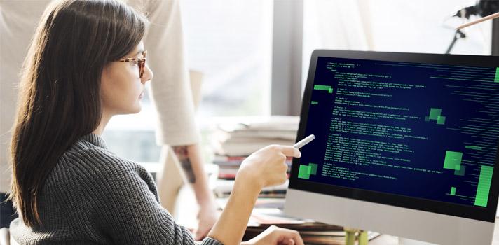 As linguagens de programação de alto nível aproximam a linguagem humana à da máquina