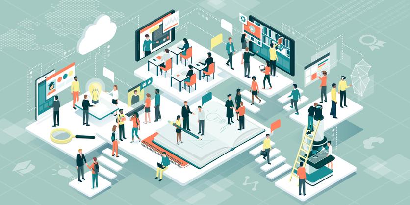 El posicionamiento del aula virtual en las universidades del país