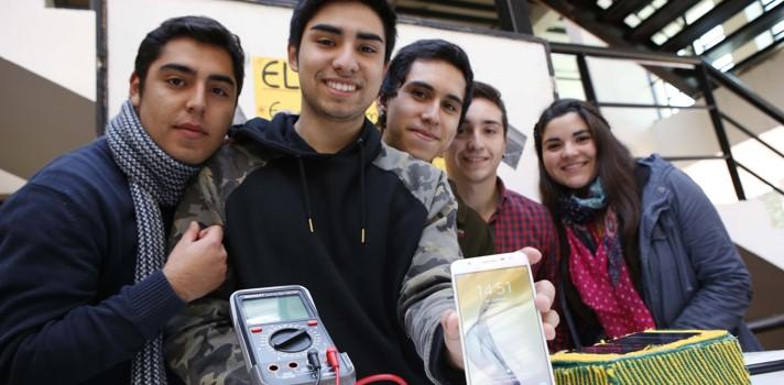 Universitarios desarrollan innovaciones sustentables para cargar celulares