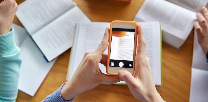 Los teléfonos móviles ofrecen cada vez más posibilidades a estudiantes y docentes