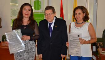 Investigadoras de UIS obtienen patente y son felicitadas