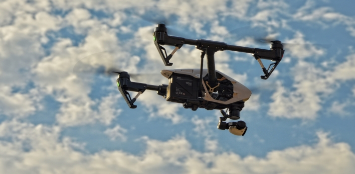 Operador de drones, el empleo ideal para los universitarios.