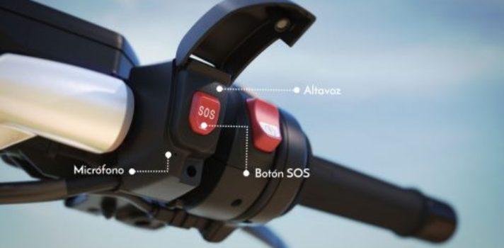 BMW instala un botón de llamada de emergencia en sus motos