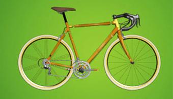 Emprendedores diseñan una bicicleta de bambú que recarga pilas y dispositivos electrónicos