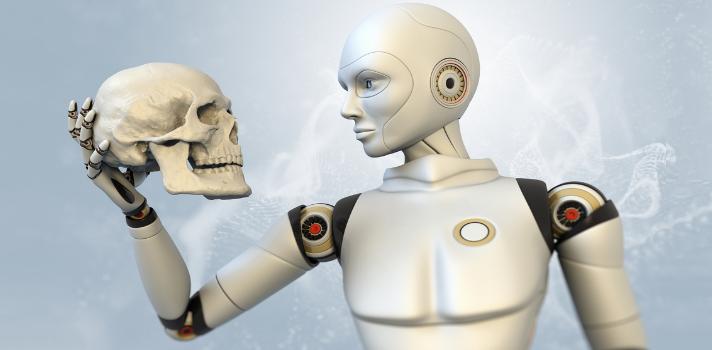 Un robot inteligente que interpreta preguntas de examen