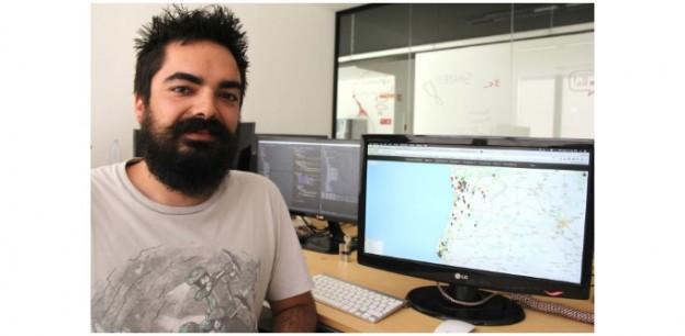 Estudante da Universidade de Aveiro criou site que divulga situação atual dos incêncios