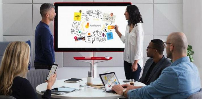Jamboard, o quadro digital da Google para facilitar o teletrabalho