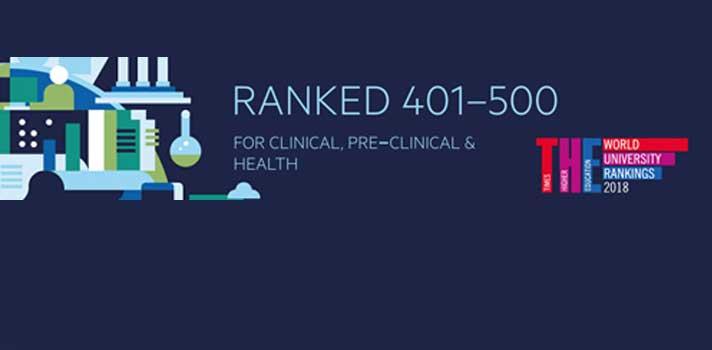 UBI entre as 500 melhores do mundo na Área das Ciências da Saúde