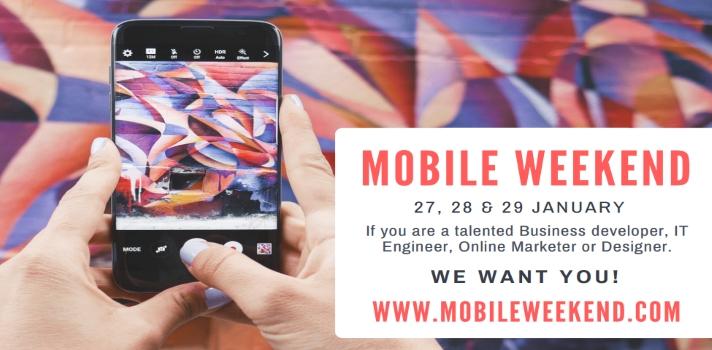 Mobile Weekend 2017: convierte tus ideas en Apps de éxito.