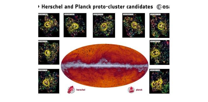 Científicos de la Colaboración Planck descubren cientos de nuevas galaxias formadas poco después del Big Bang
