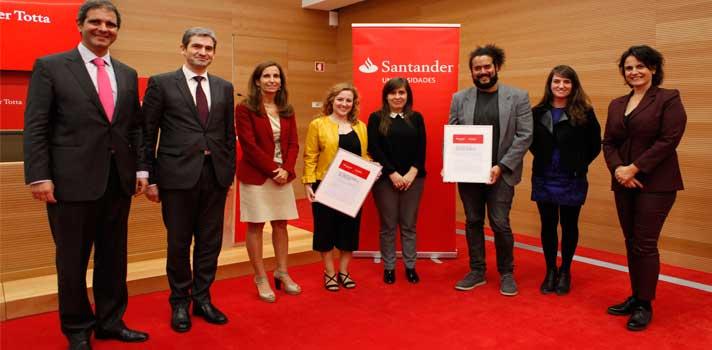 Prémios Santander Universidades Idea Puzzle 2017 para as áreas da saúde pública e jornalismo entregues esta semana