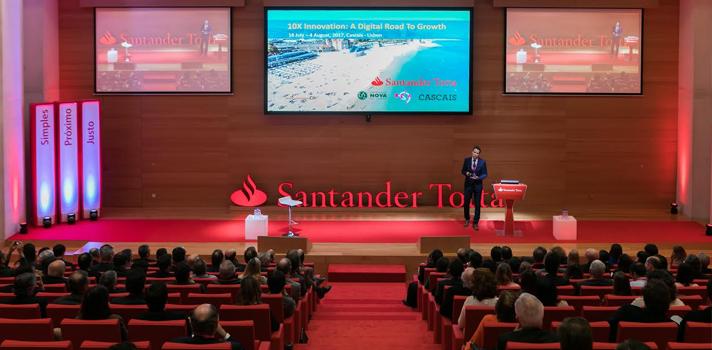 Santander Totta e European Innovation Academy apoiam a criação de startups tecnológicas