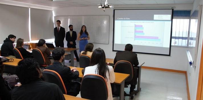 Los estudiantes lograron un mejoramiento del 21% en cuanto a las horas utilizadas en el proceso