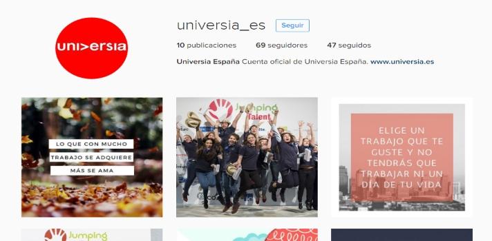 Universia España se suma a Instagram.