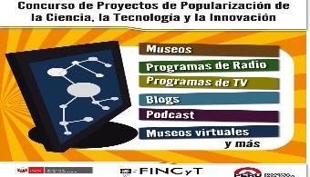 FINCyT financiará proyectos que popularicen la ciencia y tecnología en el país