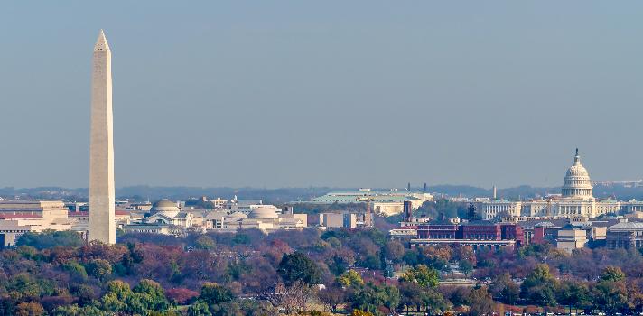 10 lugares que debes visitar en Washington DC.