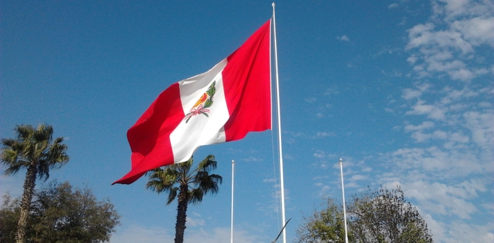 El 07 de junio se festeja el Día de la Bandera en Perú