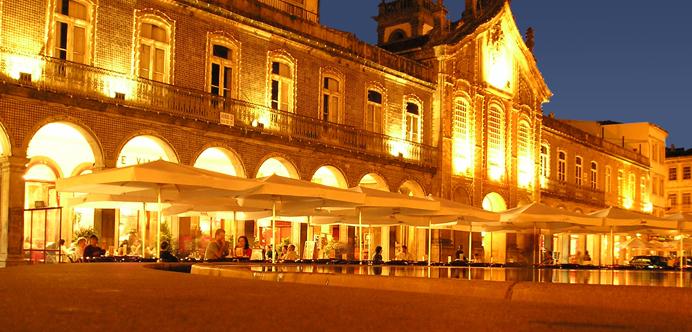 Braga de noche