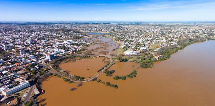 Inundaciones en Salto, provincia de Buenos Aires
