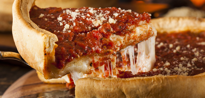 Chicago pizza style