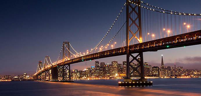 San Francisco ofrece paisajes increíbles, una rica vida nocturna y una de las mejores ofertas de mercados y restaurantes vegetarianos