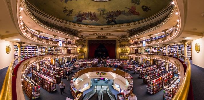 Librería El Ateneo, ex Teatro Grand Splendid