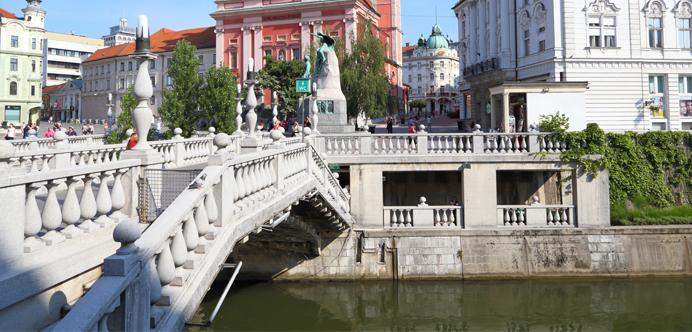 Triple puente Liubliana