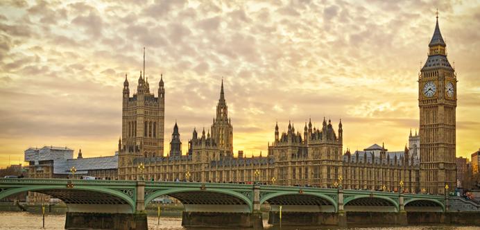 Parlamento Británico en Londres