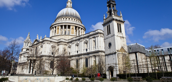 St Paul's Cathedral Londres