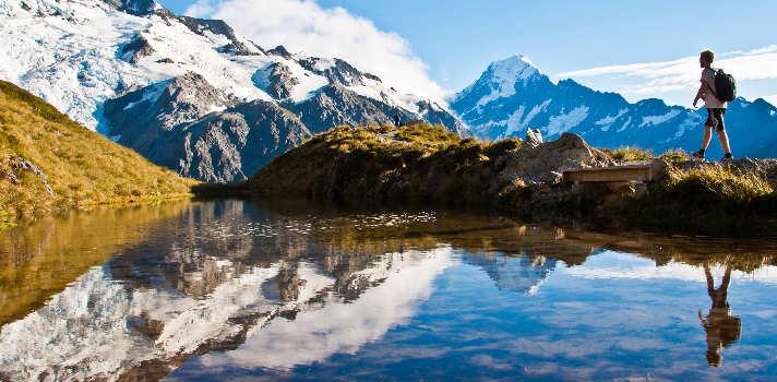 El paisaje de Nueva Zelanda es tan diverso que creerás que estás recorriendo el mundo entero
