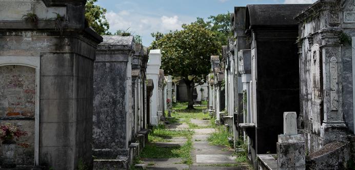 Cementerio Nueva Orleans
