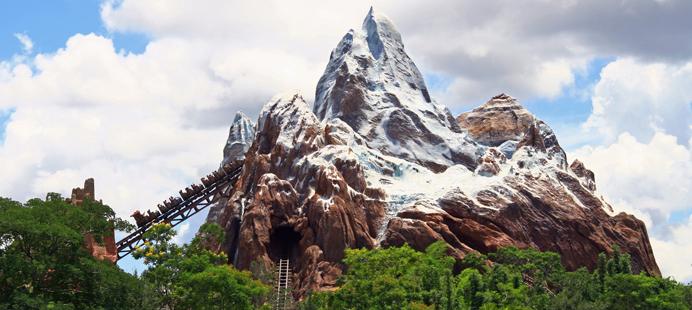 Montaña rusa en Disney World