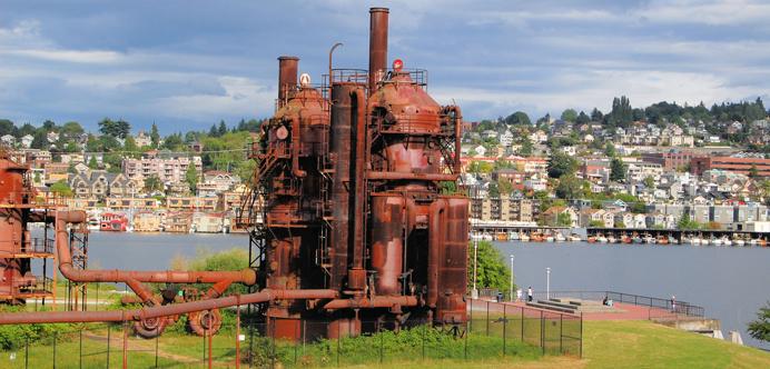 Gasworks en Seattle